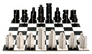 Cardboard Chess